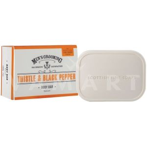 Scottish Fine Soaps Thistle & Black Pepper Soap 220g луксозен сапун
