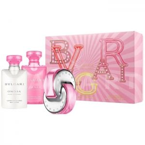 Bvlgari Omnia Pink Sapphire Eau de Toilette 40ml + Shower gel 40ml + Body Lotion 40ml дамски комплект