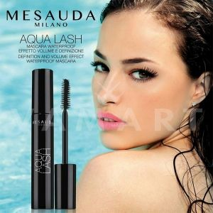 Mesauda Milano Mascara Aqua Lash Definition and Volume Waterproof Mascara