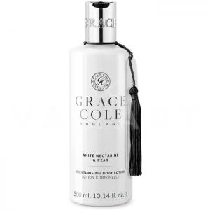 Grace Cole England White Nectarine & Pear Moisturizing Body Lotion 300ml Хидратиращ лосион за тяло