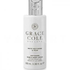 Grace Cole England White Nectarine & Pear Moisturizing Hand and Body Lotion 100ml Хидратиращ лосион за ръце и тяло
